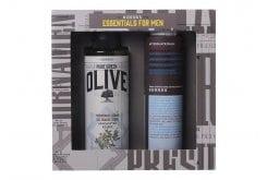 Korres Essentials for men με Αφρόλουτρο Κέδρος, 250ml & ΜΑΖΙ Aftershave Καλέντουλα & Ginseng, 200ml