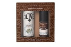Korres Set for Men Maple anti-ageing Cream, 50ml & Olive Showergel Cedar, 250ml