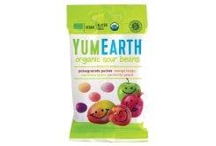 Yumearth Organic Sour Beans Βιολογικά Κουφετάκια Φρούτων, 50gr