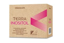 Genecom Terra Inositol dietary supplement for ovarian function, 30 sachets