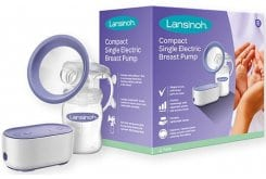 Lansinoh New Compact Breastpump, 1pc