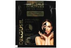 SJA Pharm Delousil Black Beauty Detox Mask Μάσκα Καθαρισμού Προσώπου με Ενεργό Άνθρακα, 10ml