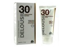 SJA Pharm Delousil Face Sunscreen SPF30 Αντιηλιακή Κρέμα Προσώπου, 50ml