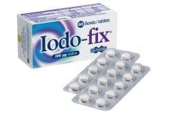 Unipharma Iodo-Fix 200μg Συμπλήρωμα Διατροφής μεΙώδιο, 60 tabs