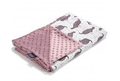 La Millou Speedy Me Bright - French Lavender Double-Sided Blanket 100cm x 80cm, 1 piece
