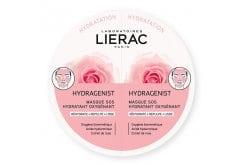 Lierac Hydragenist SOS Moisturizing Oxygenating Mask Μάσκα Προσώπου για Ενυδάτωση, Οξυγόνωση & Λείανση, 2x6ml