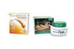 XLS Medical Max Strength Φόρμουλα για τον Έλεγχο Σωματικού Βάρους, την πρόληψη & αγωγή κατά της Παχυσαρκίας, 120 caps & ΜΑΖΙ Somatoline Cosmetic Εντατικό Αδυνάτισμα Νύχτας σε 7 Νύχτες, 400ml