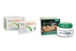 """Εικόνα του """"XLS Medical Ταμπλέτες Συμπλήρωμα για τον Έλεγχο Βάρους, 180 tabs με ΔΩΡΟ Πρόγραμμα 10 Ημερών XLS Medical Ταμπλέτες, 60 tabs & ΜΑΖΙ Somatoline Cosmetic Εντατικό Αδυνάτισμα Νύχτας σε 7 Νύχτες, 250ml"""""""