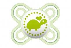 Mam Πιπίλα Perfect Start Σιλικόνης 0-2 μηνών, 1 τεμάχιο - Πράσινο