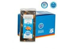 Natural Products Χειροποίητη Μαύρη Σοκολάτα με Αμύγδαλα & Προβιοτικά, Χωρίς Προσθήκη Ζάχαρης, 90gr
