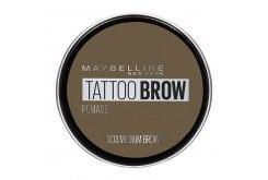 Maybelline Tattoo Brow Pomade Κρεμώδες long-wear Τατουάζ Φρυδιών, 1τμχ - 03 Medium Brown
