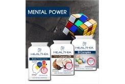 Healthia PROMO Mental Power Memory & Concentration Pack, 3 items