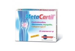 Bionat Metacartil Συμπλήρωμα Διατροφής για την Φυσιολογική Λειτουργία των Αρθρώσεων 20 tabs