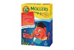 Moller's Omega 3 Ζελεδάκια για Παιδιά με γεύση Φράουλα, 36gummies