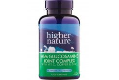 Higher Nature MSM Gloucosamine Joint Complex for Healthy & Flexible Joints, 90 tablets