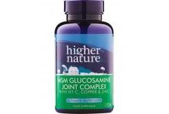 Higher Nature MSM Gloucosamine Joint Complex για Υγιείς & Εύκαμπτες Αρθρώσεις, 90 ταμπλέτες