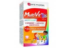 Forte Pharma MultiVit Kids Βιταμίνες & Μέταλλα Με Βασιλικό Πολτό 30 μασώμενα δισκία
