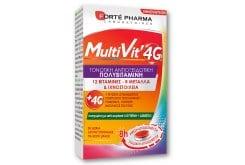 Forte Pharma MultiVit 4G Πολυβιταμίνη 30caps