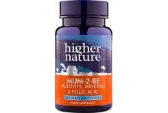 Higher Nature Mum 2 Be Πολυβιταμίνη για Μέλλουσες Μητέρες, 90 ταμπλέτες