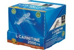 MyElements Sports L-Carnitine 2000mg Liquid with Orange Flavor, 12x 20ml