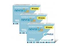 3 x Medical Pharmaquality Nevralip Retard 600 Food supplement with alpha lipoic acid, chrome, selenium, zinc & vitamins, 3 x 30 tabs