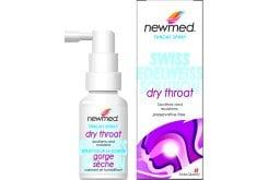 Newmed Dry Throat Σπρέι για το Ξηρό Λαιμό - Βοηθάει στην Αντιμετώπιση του Πονόλαιμου, 30ml