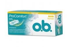 OB ProComfort Normal Ταμπόν Μεσαίας Ροής, 16 τεμάχια