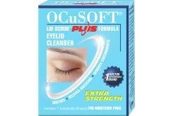 Ocusoft Eyelid Cleanser Plus Εμποτισμένα Πανάκια Καθαρισμού Βλεφάρων, 7 τεμάχια