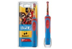OralB Vitality Kids Stages Power The Increadibles 2 Electric Toothbrush for 3+ years, 1 pc