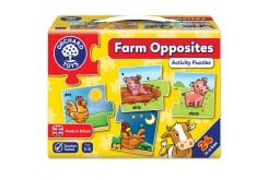 Orchard Toys Farm Opposites Jigsaw Puzzle Παζλ για Ηλικίες 3-6 Ετών, 1 τμχ