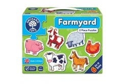Orchard Toys Farmyard Jigsaw Puzzle Παζλ από 18 μηνών+, 1 τμχ