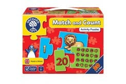 Orchard Toys Match and Count Jigsaw Puzzle Παζλ για 3 Ετών+, 1 τμχ