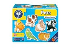 Orchard Toys Pets Jigsaw Puzzle Παζλ για 18 μηνών+, 1 τμχ