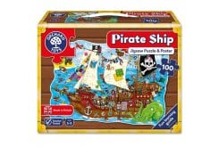 Orchard Toys Pirate Ship Jigsaw Puzzle Παζλ για Ηλικίες 5-9 Ετών, 100 κομμάτια