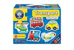 Orchard Toys Transport Jigsaw Puzzle Παζλ από 18 μηνών+, 1 τμχ