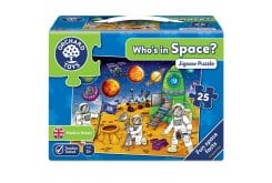 Orchard Toys Who's in Space Jigsaw Puzzle Παζλ για 3 Ετών+, 25 κομμάτια