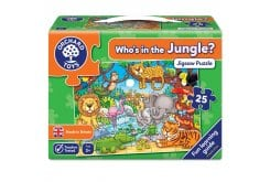 Orchard Toys Who's in the Jungle Jigsaw Puzzle Παζλ για 3 Ετών+, 25 κομμάτια