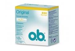 OB Original Normal Ταμπόν Μεσαίας Ροής, 8 τεμάχια