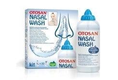 Otosan Nasal Wash Πρακτικό Φιαλίδιο & Φάκελα με φυσιολογικό ορό (30 τμχ)