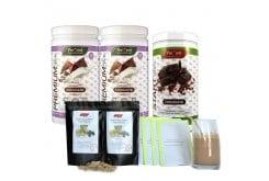 Prevent PROMO PACK με 1 Start με Γεύση Σοκολάτα, 450gr & 2 Premium με Γεύση Σοκολάτα, 2 x 430gr & ΔΩΡΟ 12 Μερίδες Μούσλι, 12 x 60gr & ΔΩΡΟ 6 Μερίδες Skinny Shake Σοκολάτα
