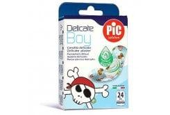 Pic Solution Delicate Boy Medium (19 x 72mm) Παιδικό Τσιρότο για Αγόρια, 24τμχ