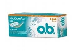 OB ProComfort Super Ταμπόν Μέτριας έως Μεγάλη Ροής, 16 τεμάχια