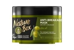 Nature Box Mask Olive Μάσκα Μαλλιών Έλαιο Ελιάς για Προστασία από το Σπάσιμο, 200ml