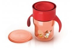 Philips AVENT SCF782/00 - My First Grown Up Cup 12 months+ ,260ml Red or Green, με λαβές / σε πράσινο ή κόκκινο χρώμα - No BPA, 1 piece