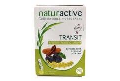 Naturactive Transit Συμπλήρωμα Διατροφής Για Την Βελτίωση Της Εντερικής Κινητικότητας, 20 φακελίσκοι
