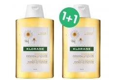 2 x Klorane Chamomile Shampoo PROMO -50% ΕΚΠΤΩΣΗ ΣΤΟ 2ο ΠΡΟΪΟΝ Σαμπουάν με εκχύλισμα Χαμομηλιού, 2 x 400ml