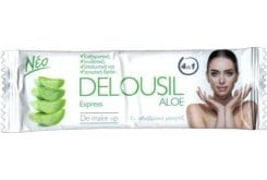 Delousil Aloe Express De Make Up Μαντηλάκια Καθαρισμού & Ντεμακιγιάζ, 12τμχ