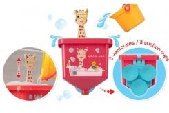 "SOPHIE LA GIRAFE Σόφι Παιχνίδι μπάνιου ""Αστεία υδραυλικά"", 523425"