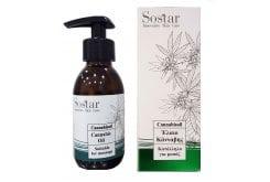 Sostar Cannabisoil Έλαιο Κάνναβης Κατάλληλο για Μασάζ, 125ml