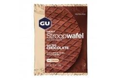 GU Energy Stroopwafel Salted Chocolate Gluten Free Ενεργειακή Βάφλα (Χωρίς Καφεΐνη), 32g